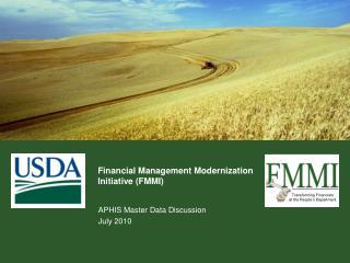 Financial Management Modernization  Initiative FMMI