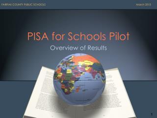 PISA for Schools Pilot