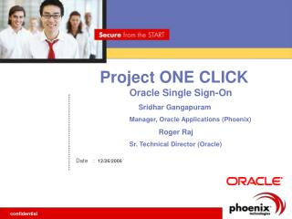 Project ONE CLICK