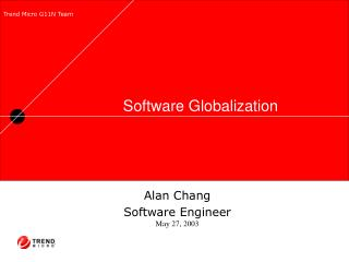 Software Globalization