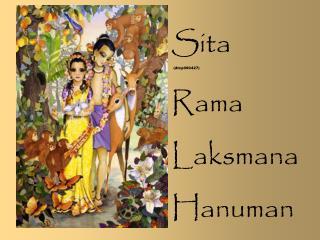 Sita   (dtcp090427) Rama Laksmana Hanuman