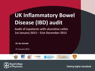 UK Inflammatory Bowel Disease (IBD) audit