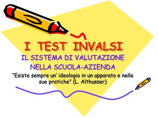 I  TEST  INVALSI