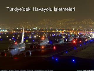 Türkiye'deki Havayolu İşletmeleri