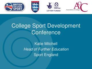 College Sport Development Conference