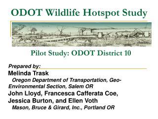 ODOT Wildlife Hotspot Study