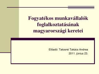 Fogyatékos munkavállalók foglalkoztatásának magyarországi keretei