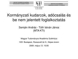 Magyar Tudományos Akadémia Székháza 1051 Budapest, Roosevelt tér 9., Képes terem