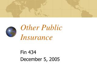 Other Public Insurance
