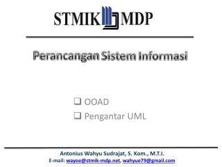 OOAD Pengantar  UML