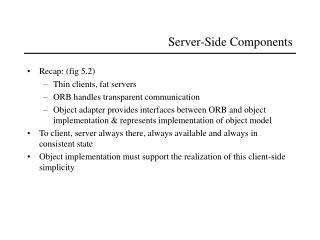 Server-Side Components
