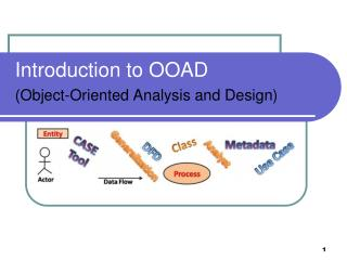 Introduction to OOAD