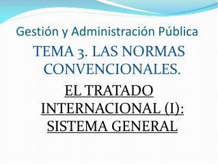 Gestión y Administración Pública