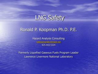 LNG Safety