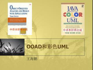 OOAD 和彩色 UML