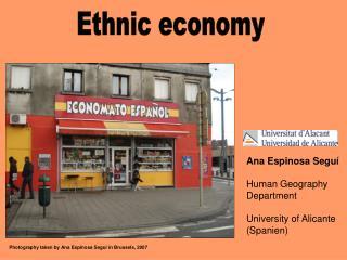 Ethnic economy