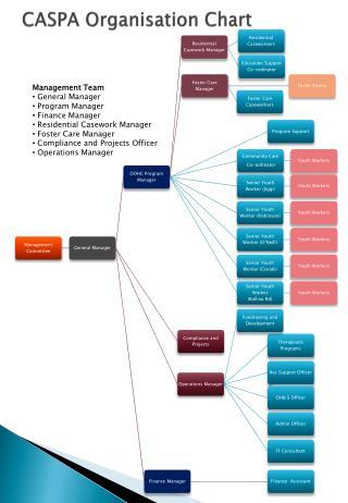 CASPA Organisation Chart