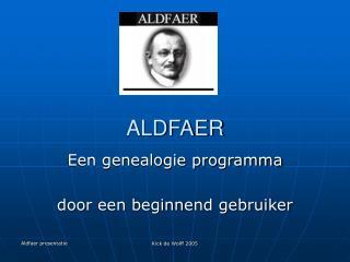 ALDFAER