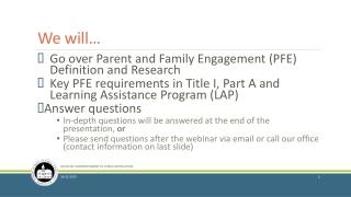Parental Involvement: Best Practices