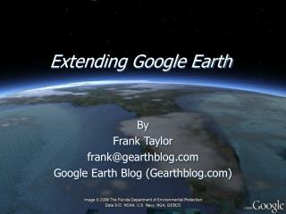 Extending Google Earth