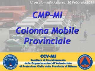 CMP-MI Colonna Mobile Provinciale