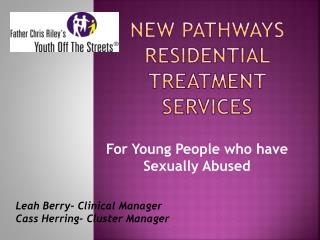 New Pathways Residential Treatment Services