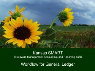 Kansas SMART (Statewide Management, Accounting, and Reporting Tool) Workflow for General Ledger