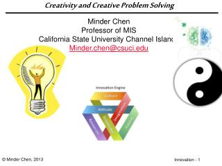 Creativity and Creative Problem Solving
