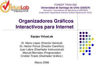 Organizadores Gr�ficos Interactivos para Internet