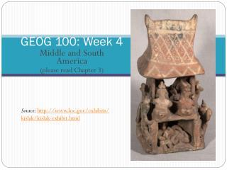GEOG 100: Week 4