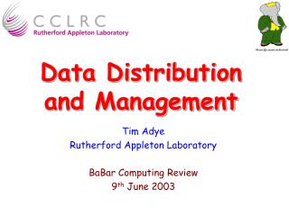 Data Distribution and Management