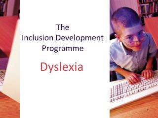 The Inclusion Development Programme