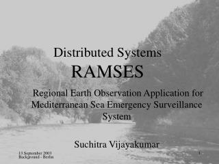 Distributed Systems  RAMSES