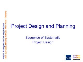 Project Design and Planning
