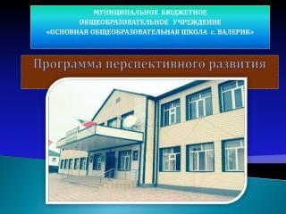 Программа перспективного развития
