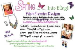 With Premier Designs Jewelry!
