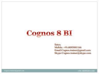 Cognos 8 BI