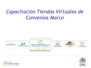 Capacitación Tiendas Virtuales de Convenios Marco