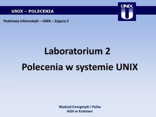 UNIX � POLECENIA