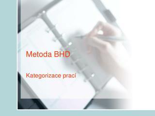 Metoda BHD