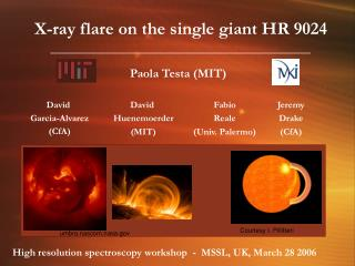 X-ray flare on the single giant HR 9024