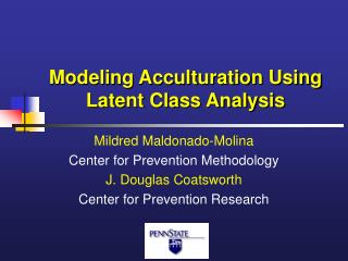 Modeling Acculturation Using Latent Class Analysis