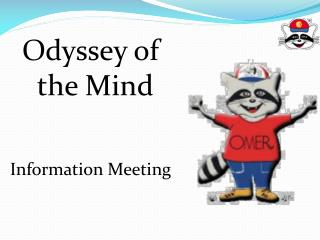 Odyssey of the Mind Information Meeting