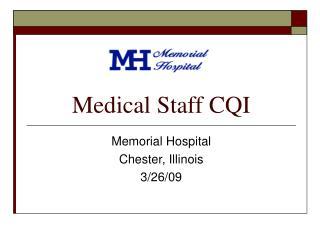 Medical Staff CQI