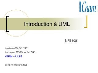 Introduction à UML