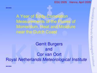 EGU 2005   Vienna, April 2005