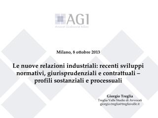 Giorgio Treglia Treglia Valle Studio di Avvocati giorgio.treglia@tregliavalle.it