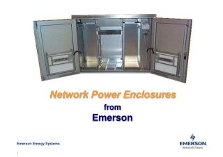 Network Power Enclosures