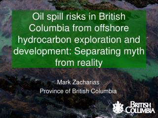 Mark Zacharias Province of British Columbia