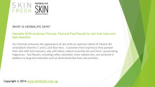 Herbalife Skin,Herbalife,Herbalife skin care products in sin